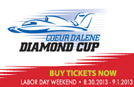 Buy tickets for Diamond Cup Regatta on Lake Coeur d'Alene